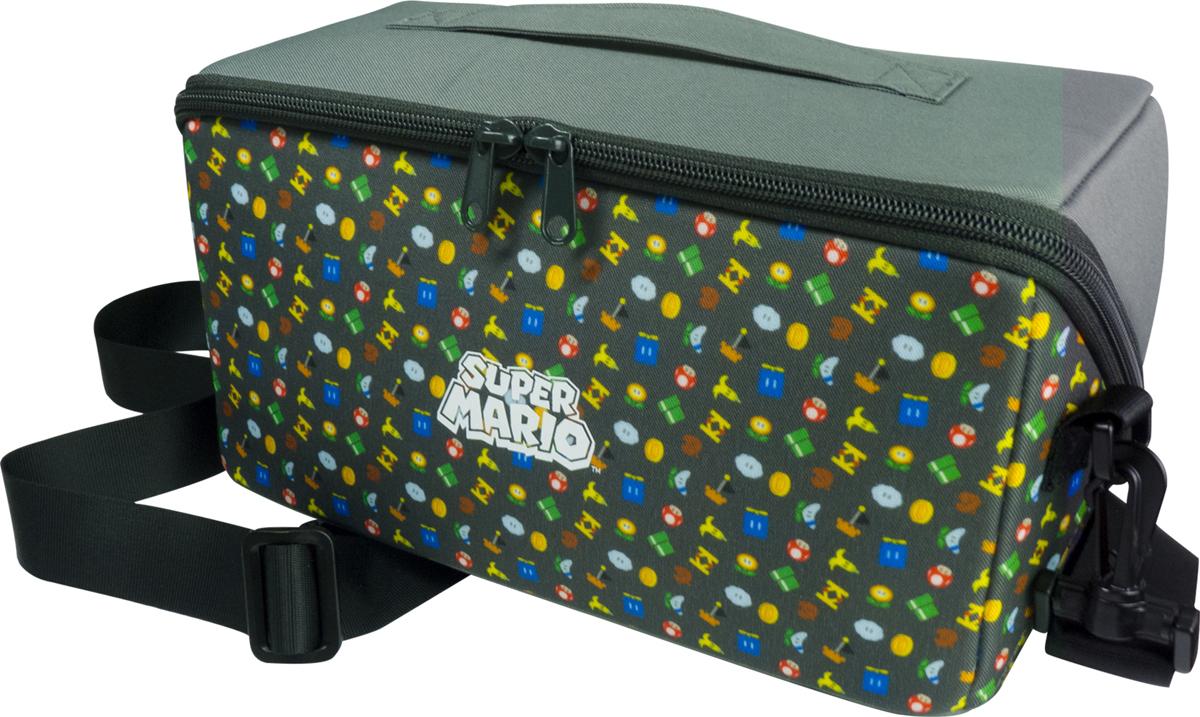 лучшая цена Сумка Hori Super Mario, HR51, для акссесуаров и консоли Nintendo Switch NSW-103U