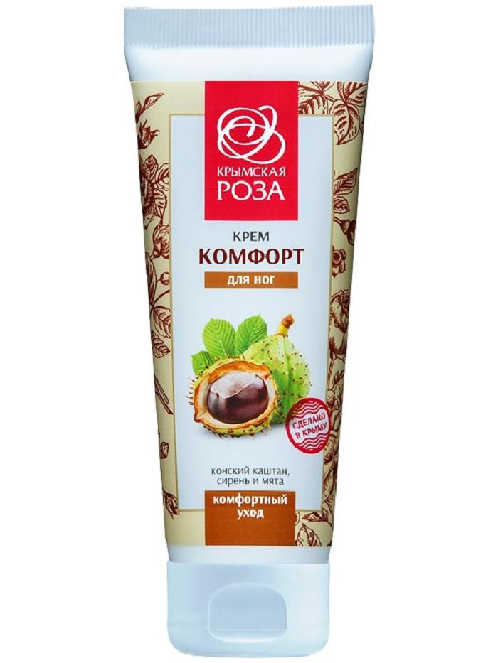Крем для ухода за кожей Крымская роза Крем косметический для ног «Комфорт», 75 мл hama 49016