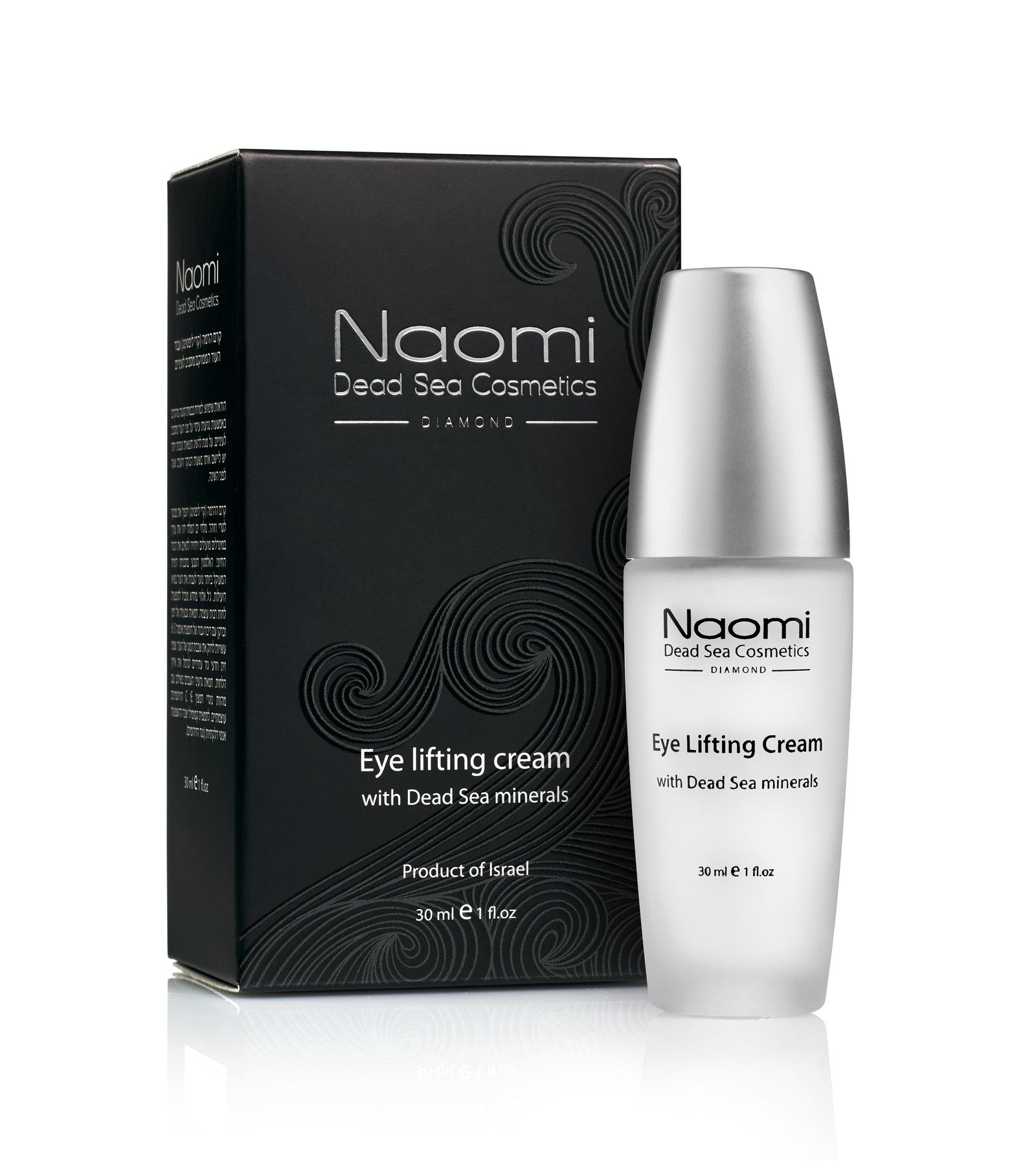 Лифтинг-крем для кожи вокруг глаз Naomi, с минералами Мертвого моря, 30 мл