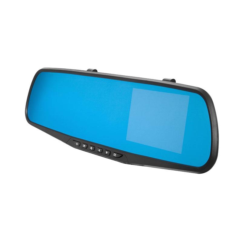 Видеорегистратор-зеркало Lexand LEXAND LR30, 00-00005268, черный двухканальный видеорегистратор для мотоцикла квадроцикла снегохода full hd 1080p avel avs1010dvr
