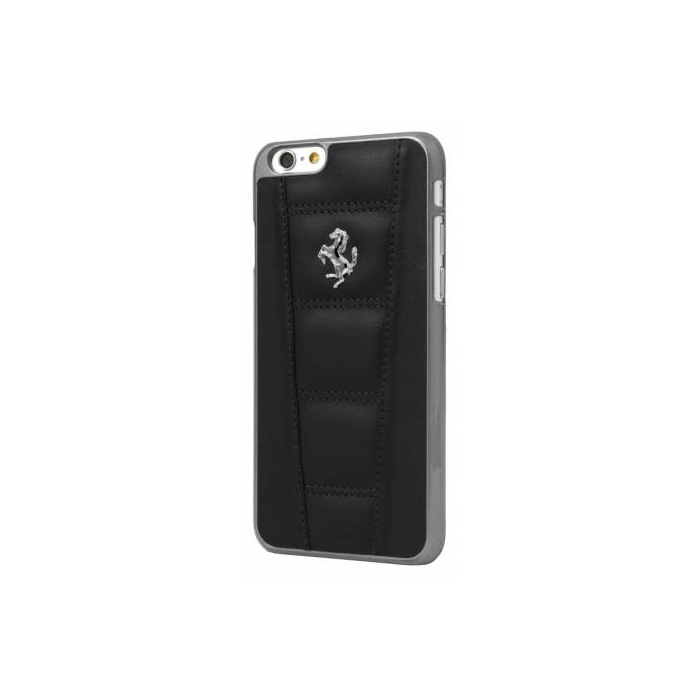 Чехол для телефона CG Mobile Ferrari Real Leather Hard Case для Apple Iphone 6/6S, белый