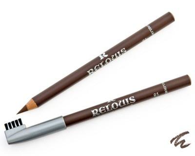Карандаш д/бровей тон 01 коричневый Relouis /8 М lavellecollection карандаш для бровей вр 01 тон 01 светло коричневый 1 3 г