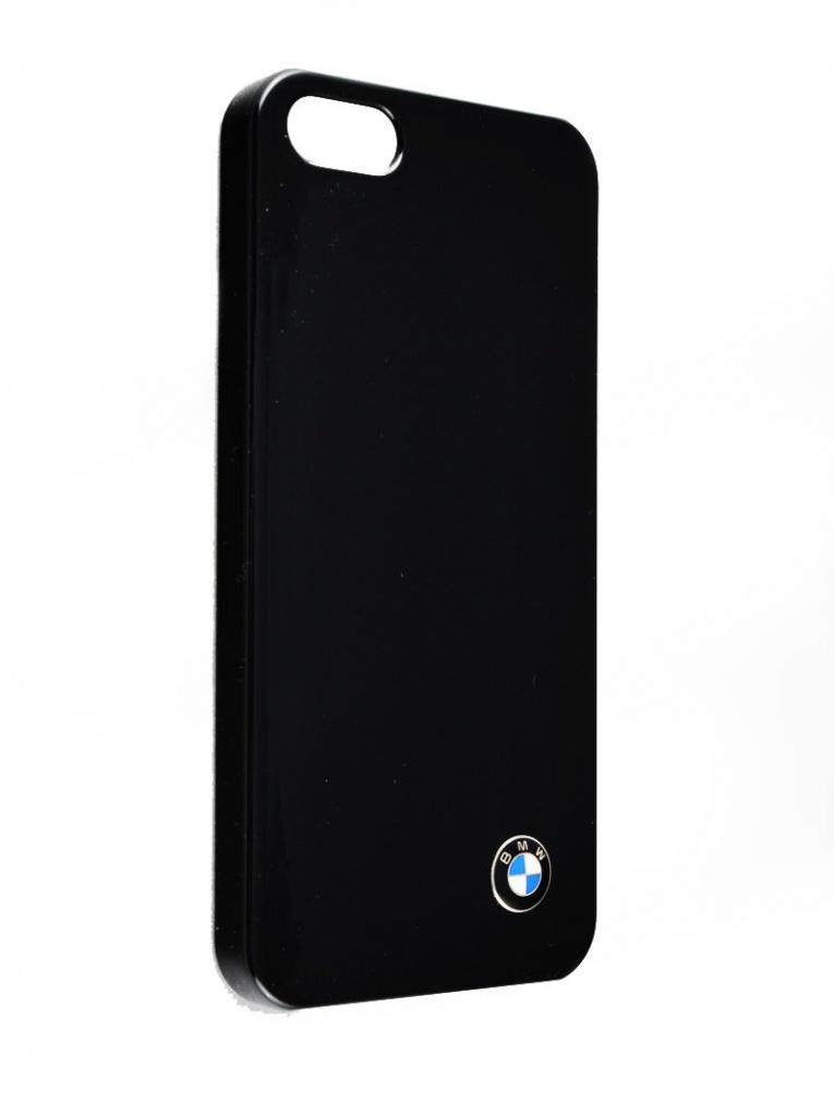Чехол пластиковый для Apple IPhone 5/5SE/5S BMW Hardcase, 3700740309315, черный