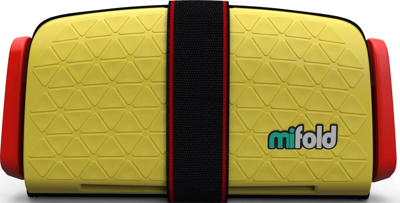 Бустер автомобильный Mifold Grab-and-Go Booster Seat, Taxi Yellow бустер mifold the grab and go pearl grey