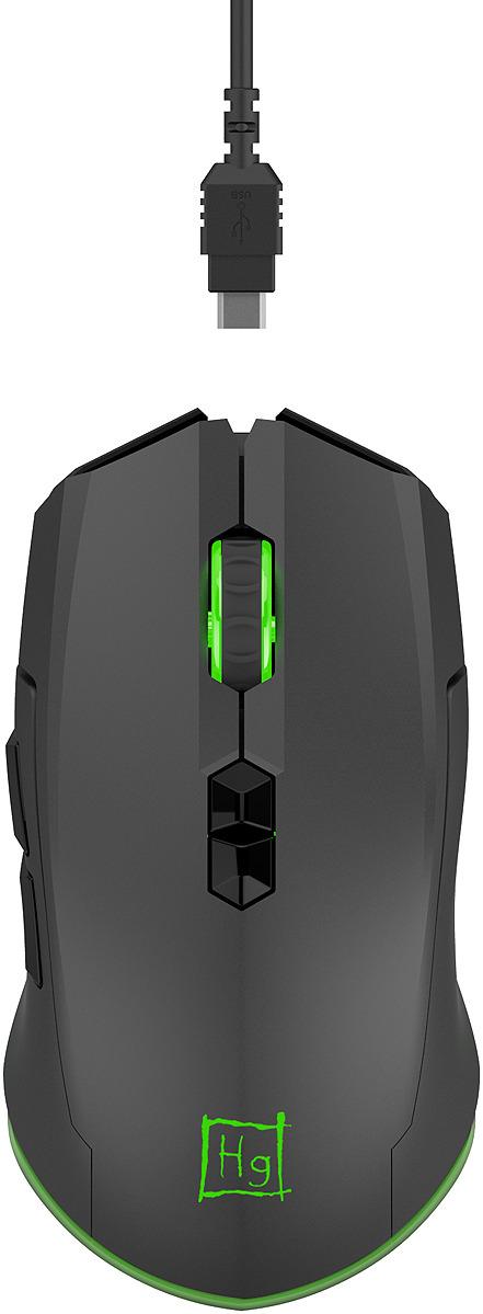 Игровая мышь Harper Gaming Spigot, WGM-01, черный