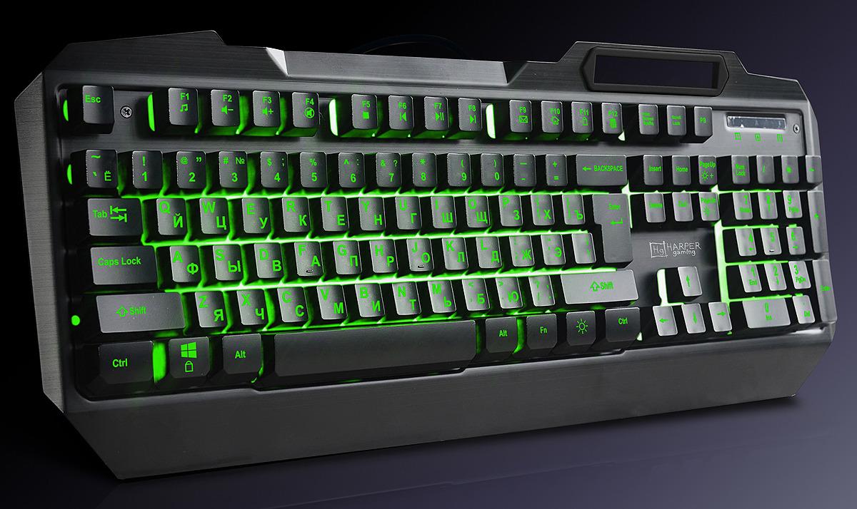 Игровая клавиатура Harper Gaming Fulcrum, GKB-20, черный