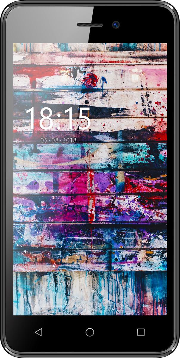 Смартфон BQ Mobile 5002G FUN 8 GB, темно-серый смартфон bq bq 5002g fun gold