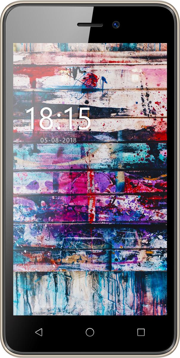 Смартфон BQ Mobile 5002G FUN 8 GB, золотой смартфон bq bq 5002g fun gold