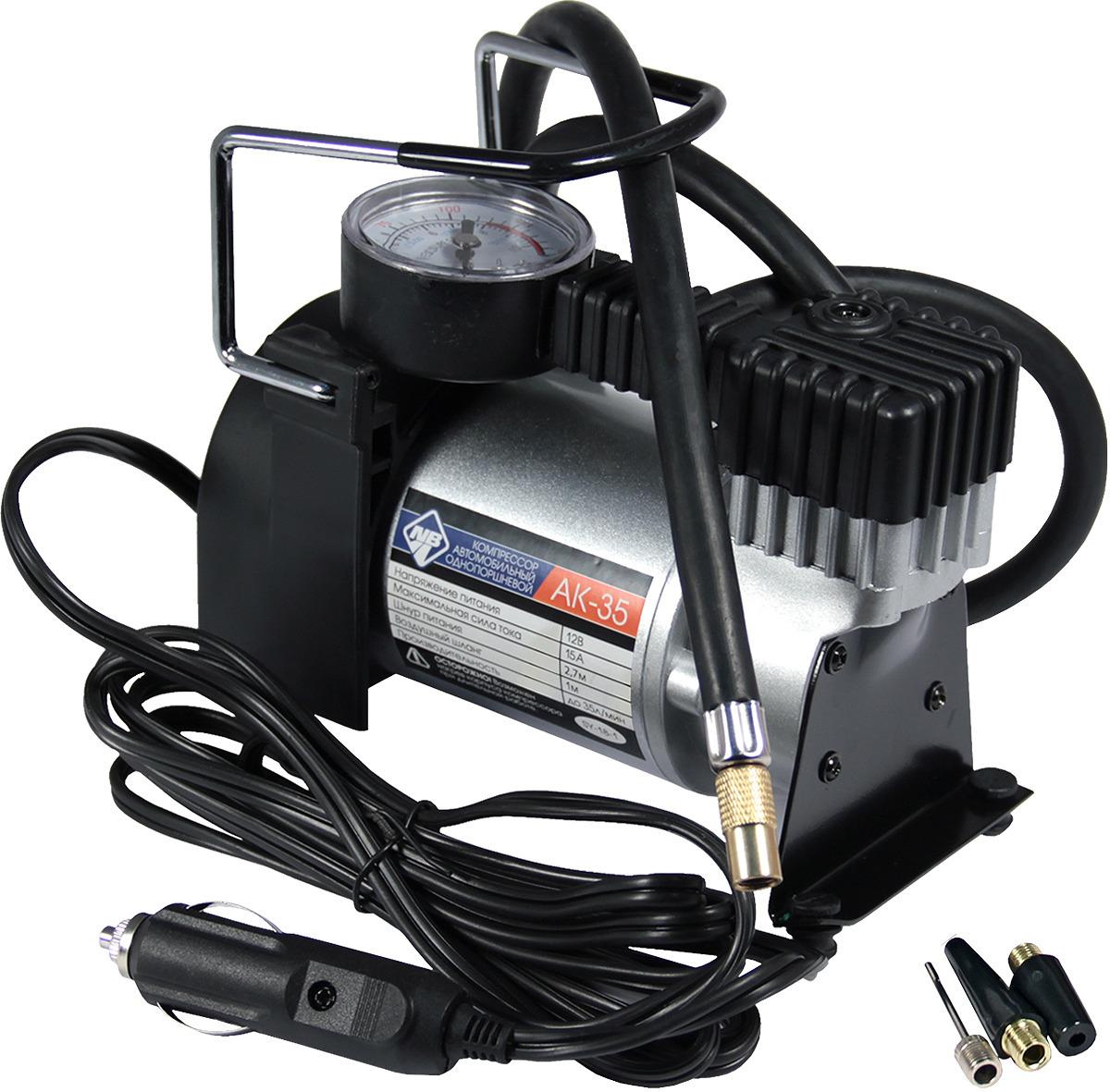 Автомобильный компрессор Nova Bright, 46948, 30 л/мин, 150 PSI, 12В компрессор воздушный barbus sb 248a с регулятором 1 канал 3 5 л мин