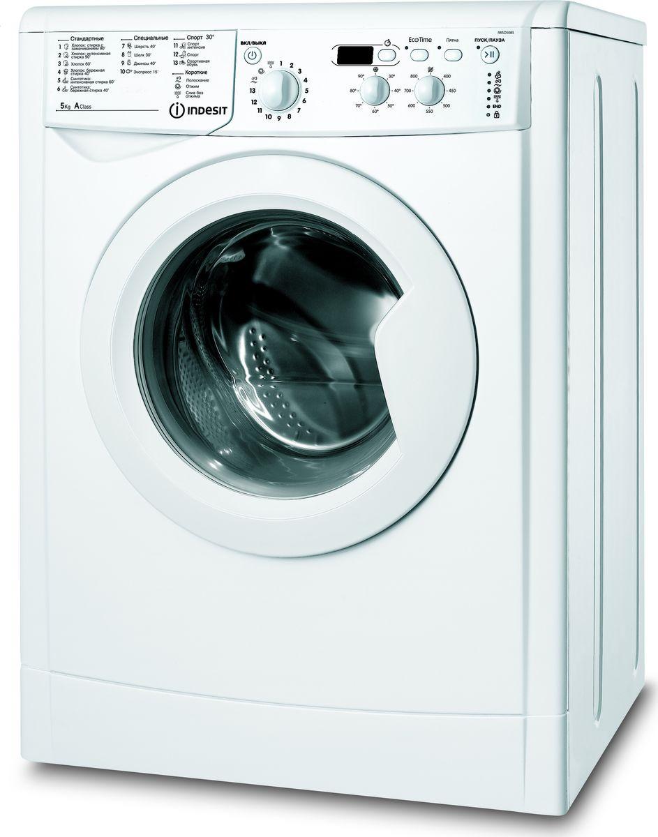 Стиральная машина Indesit IWSD 5085 (CIS), 62906, белый Indesit