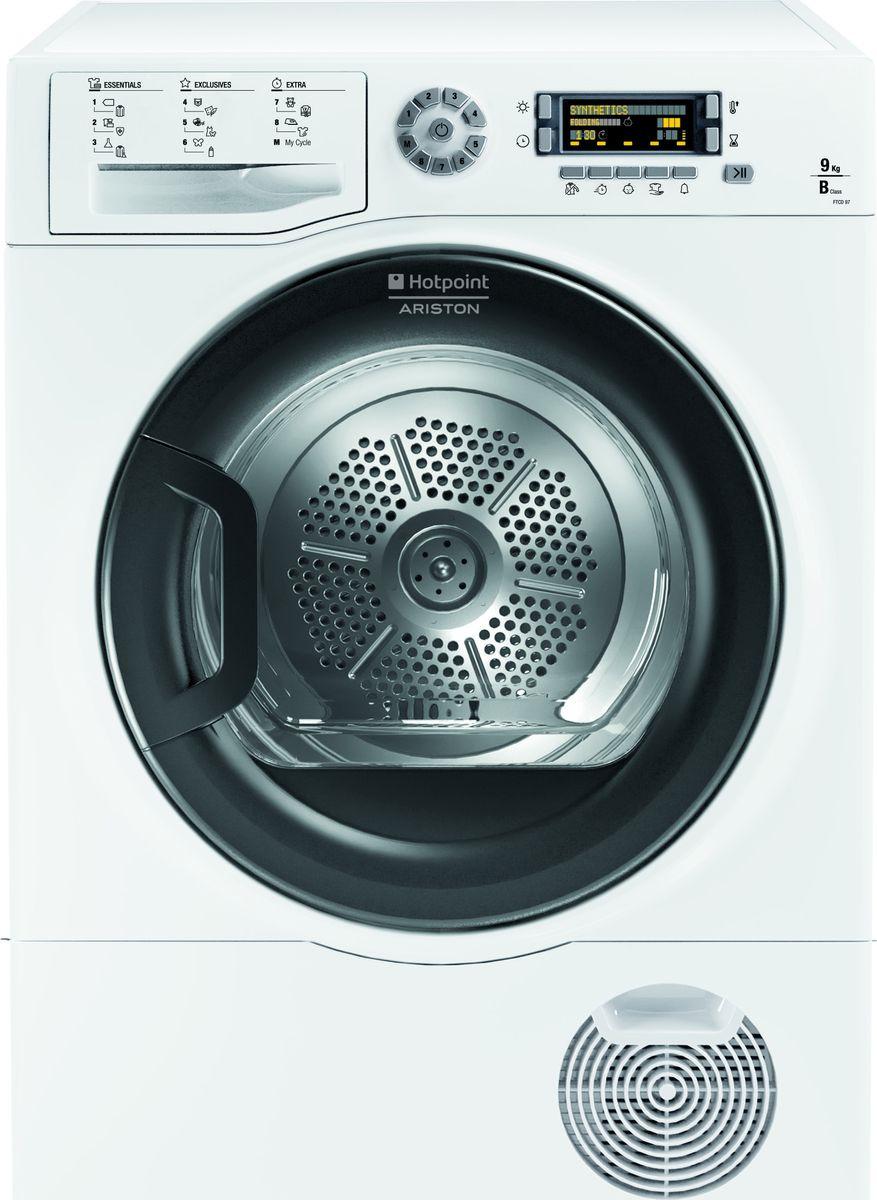 Сушильная машина Hotpoint-Ariston FTCD 97B 6H (EU), 88970, белый сушильная машина hotpoint ariston ftcf 87b 6h