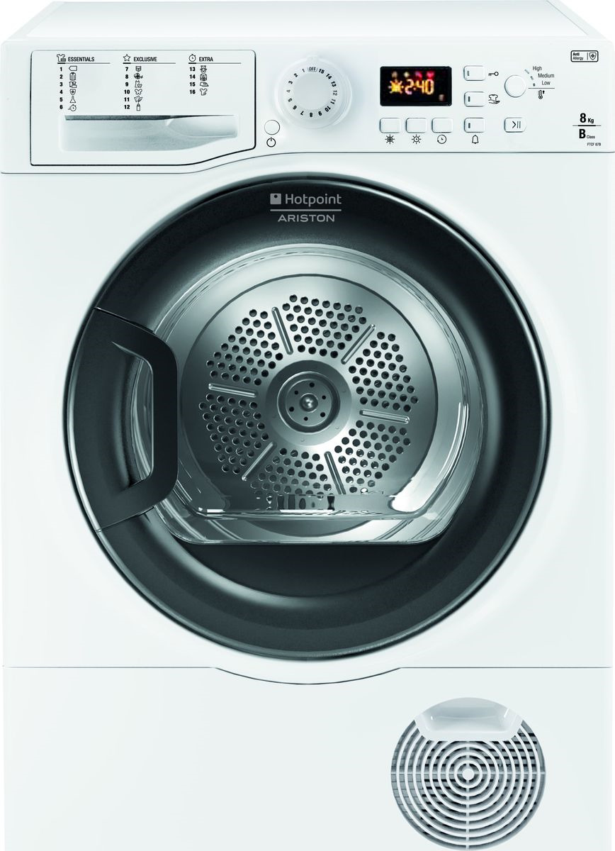Сушильная машина Hotpoint-Ariston FTCF 87B 6H (EU), 88967, белый Hotpoint-Ariston