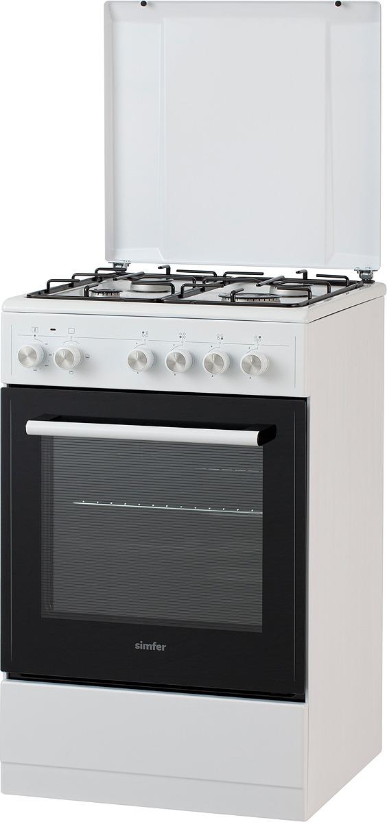 Комбинированная плита Simfer F55EW43017 газовая плита simfer f55ew43017