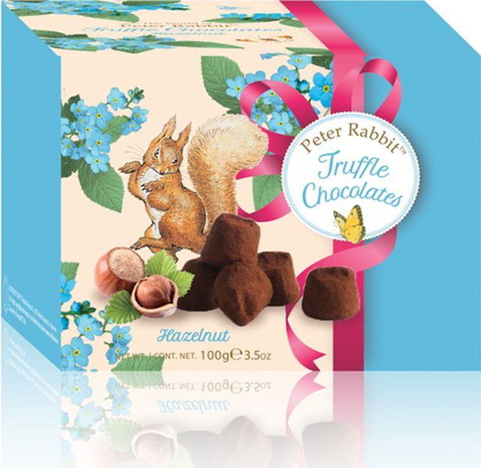 Конфеты Peter Rabbit французские трюфели с дробленым фундуком, 100 г baron французские трюфели с кусочками малины 100 г