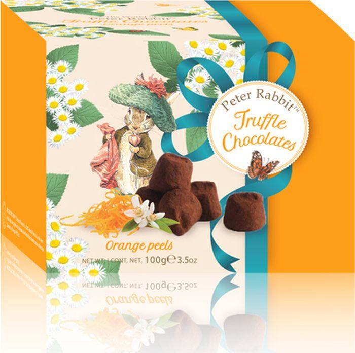 Конфеты Peter Rabbit французские трюфели с апельсиновыми цукатами, 100 г baron французские трюфели с кусочками малины 100 г