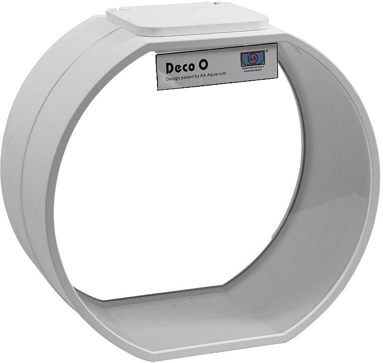 Аквариум AA Deco O, 73516003, белый, 20 л73516003Декоративный дисковидный аквариум из силикатного стекла белого цвета. В комплекте: светильник 1х2 Вт HPLED, помпа, грунт, камень декоративный, растение искусственное, скребок.