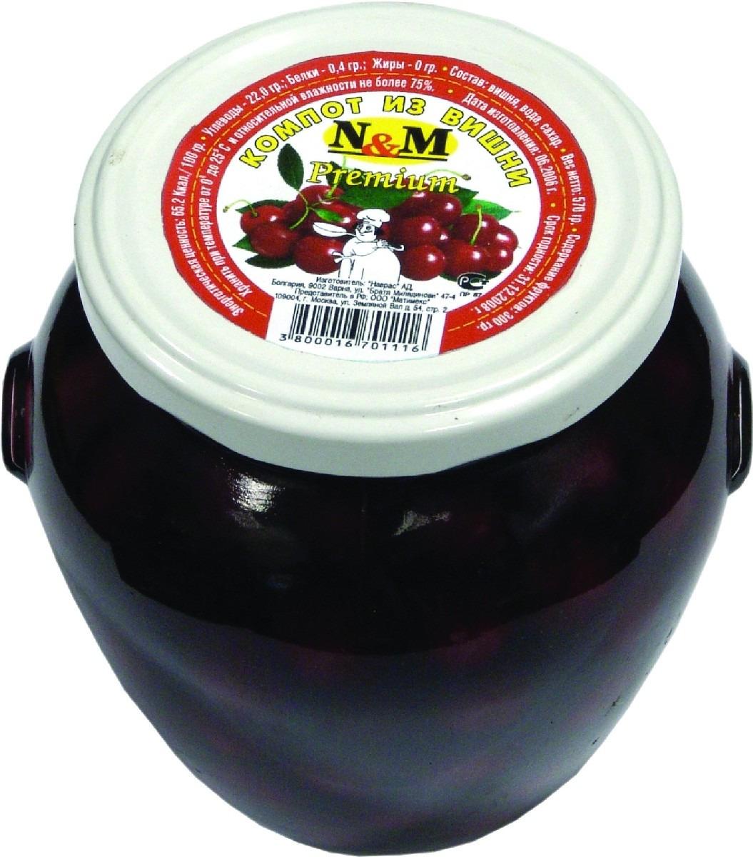 Фруктовые консервы N & M