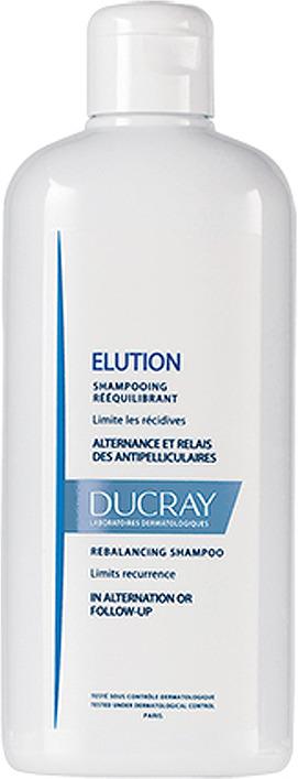 Шампунь для волос Ducray Elution, восстанавливающий, 400 мл ducray elution