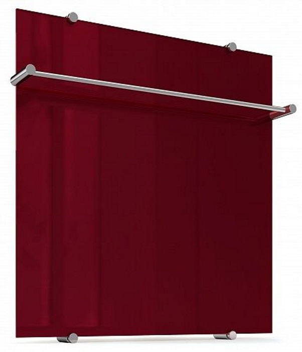 Теплолюкс Flora 60x60 Бордовый - полотенцесушитель электрический цена
