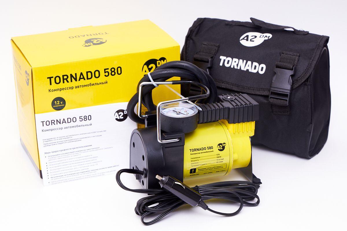 Автомобильный компрессор A2DM Торнадо, 112011, 150Вт, 40 л