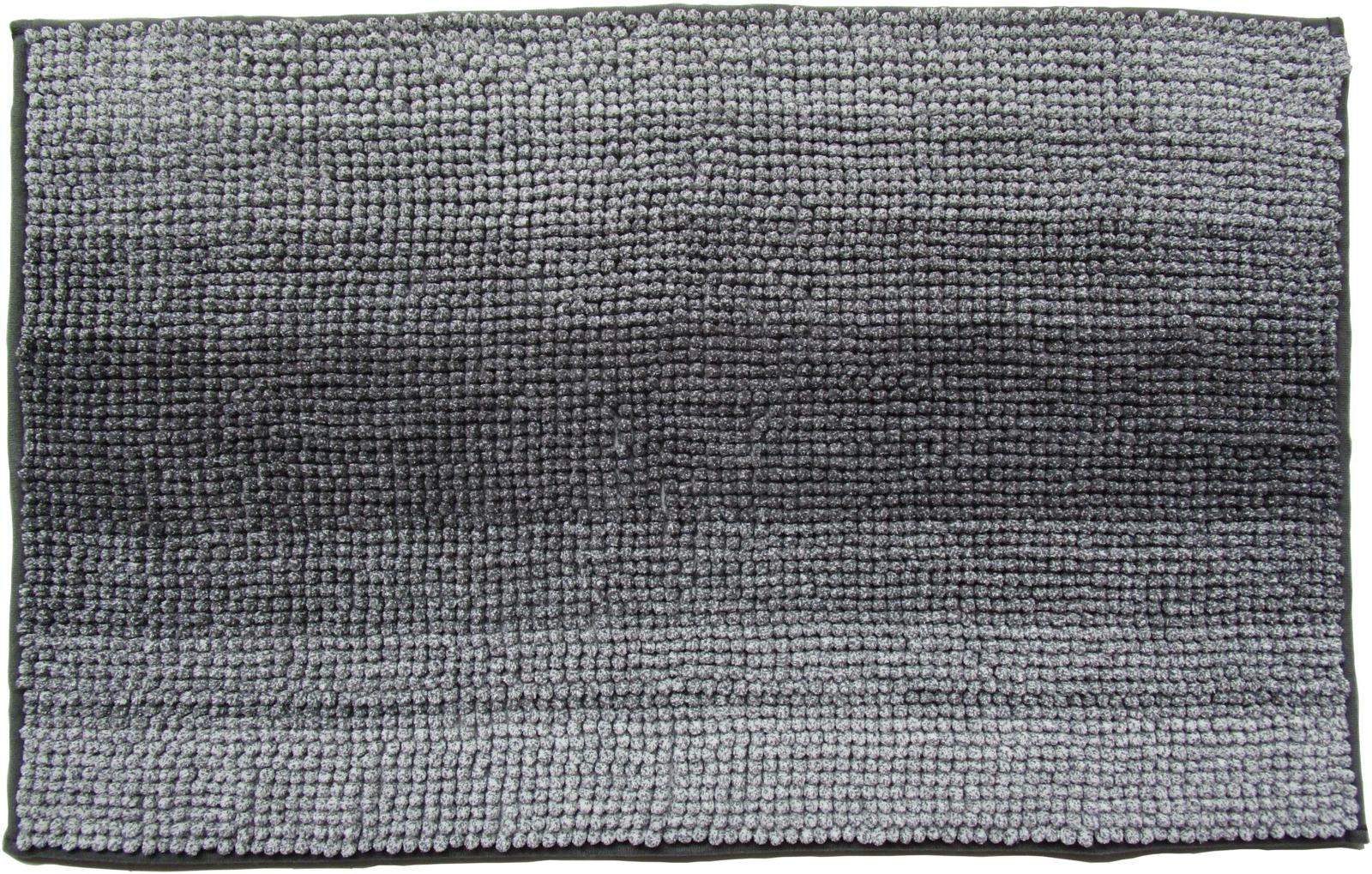 Коврик для ванной Swensa Gradient, SWM-3004AN-B, серый, 80 х 50 см