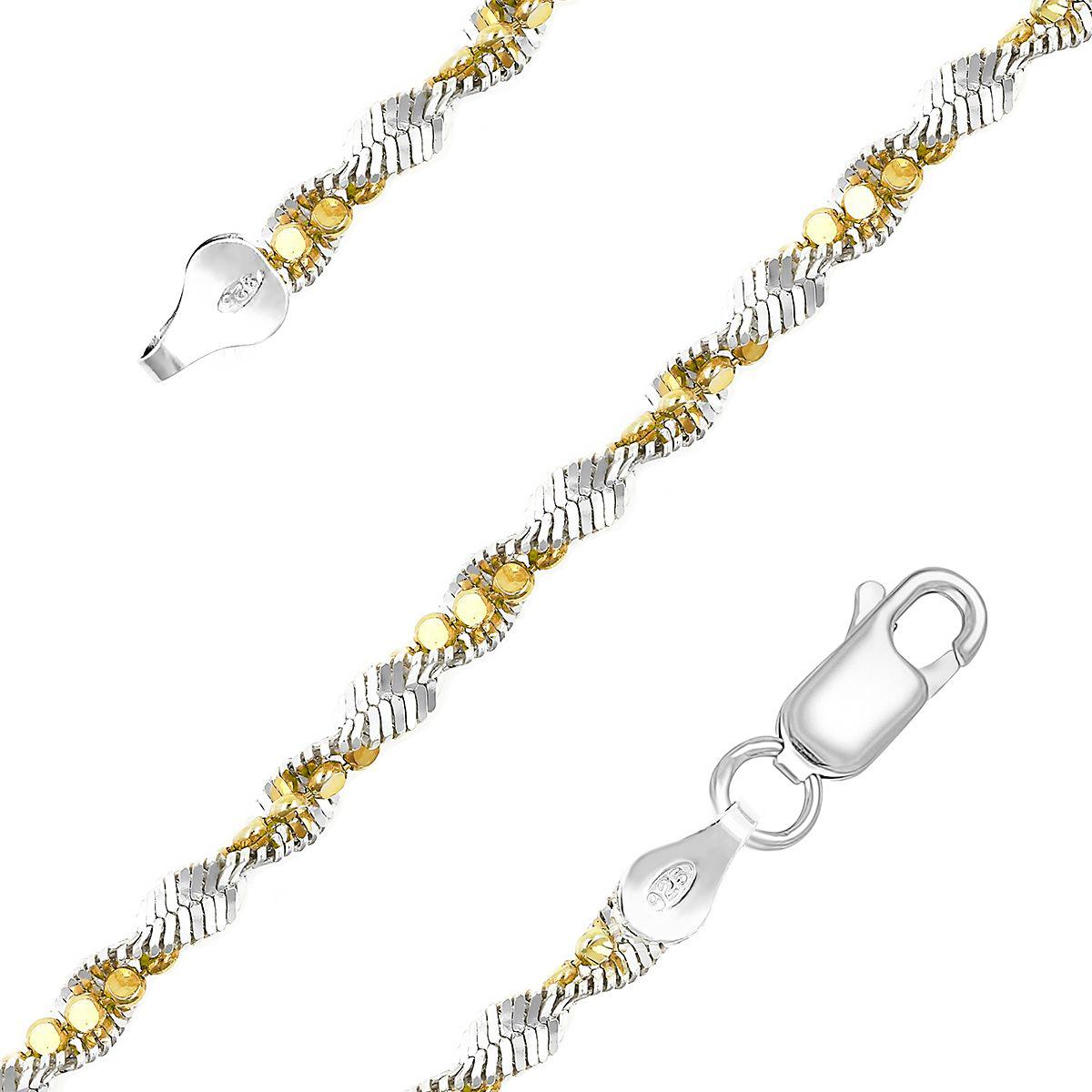 Браслет Серебро России из серебра (4224)