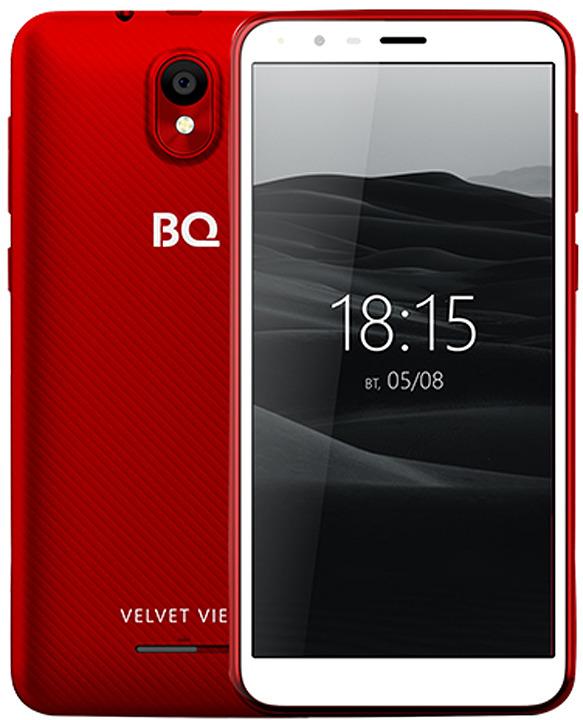 Смартфон BQ Mobile 5300G Velvet View 0,5/8GB, винный красный цена и фото