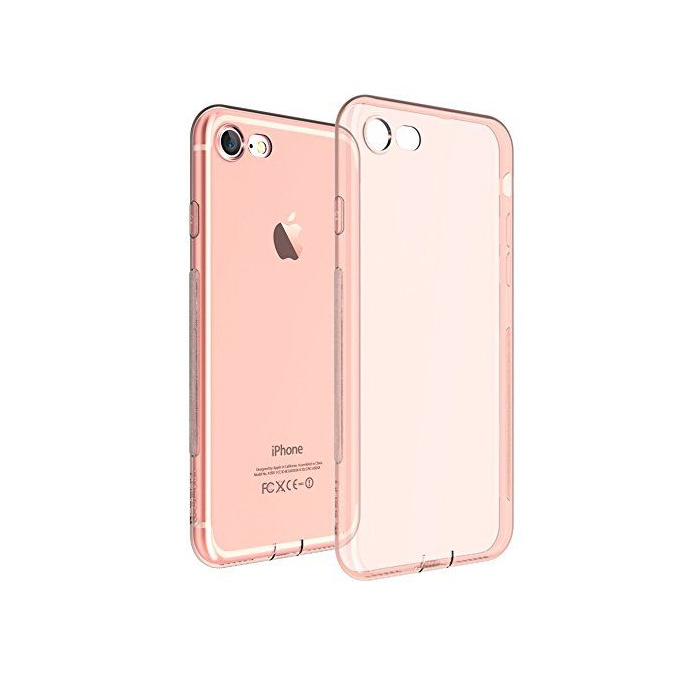 Чехол для телефона Devia Naked Rose Gold для Apple iPhone 7/8, 6952897992590, розовый цена