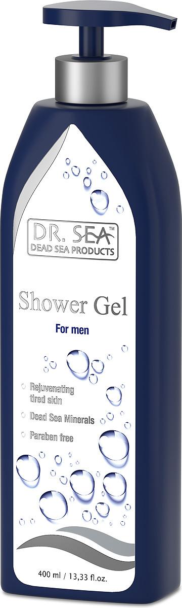 Гель для душа мужской Dr. Sea, с минералами Мертвого моря, для всех типов кожи, 400 мл кондиционер для волос dr sea с кератином витамином е и минералами мертвого моря для всех типов волос 400 мл