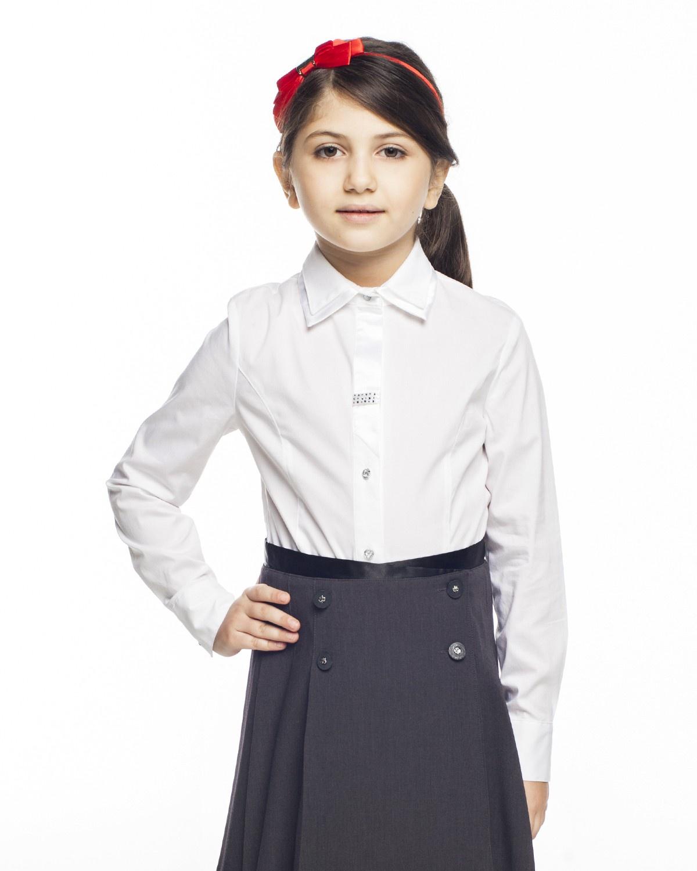 Блузка Cleverly карамелли карамелли блузка для школы с крылышками белая