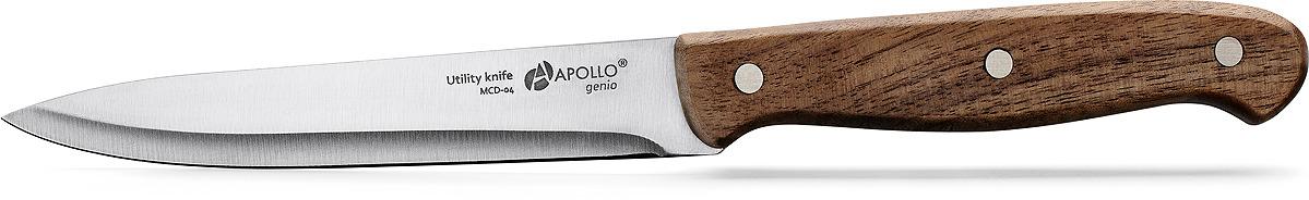 Нож кухонный Apollo Genio Macadamia, MCD-04, коричневый, длина лезвия 11 см все цены