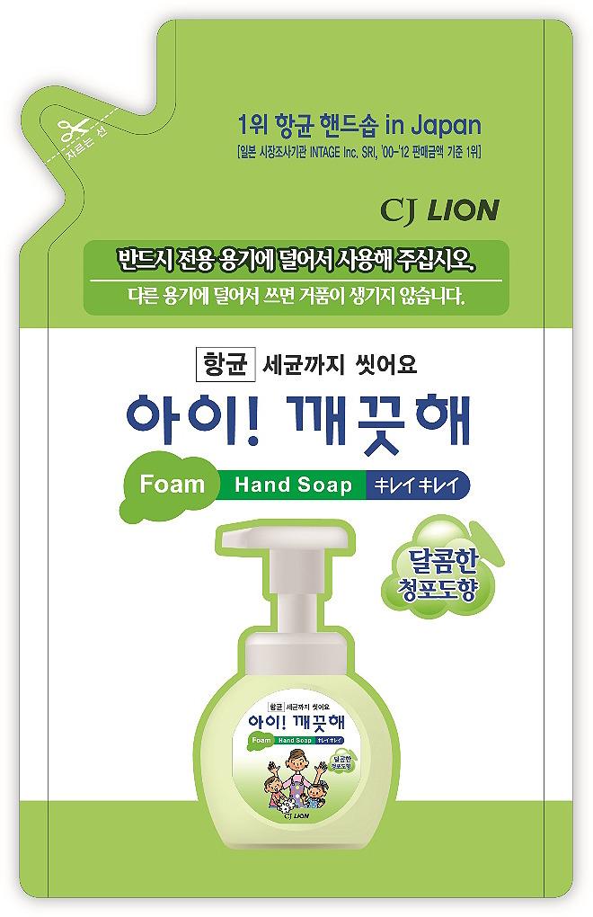 Мыло жидкое для рук Cj Lion Ai-Kekute, с ароматом винограда, 200 мл