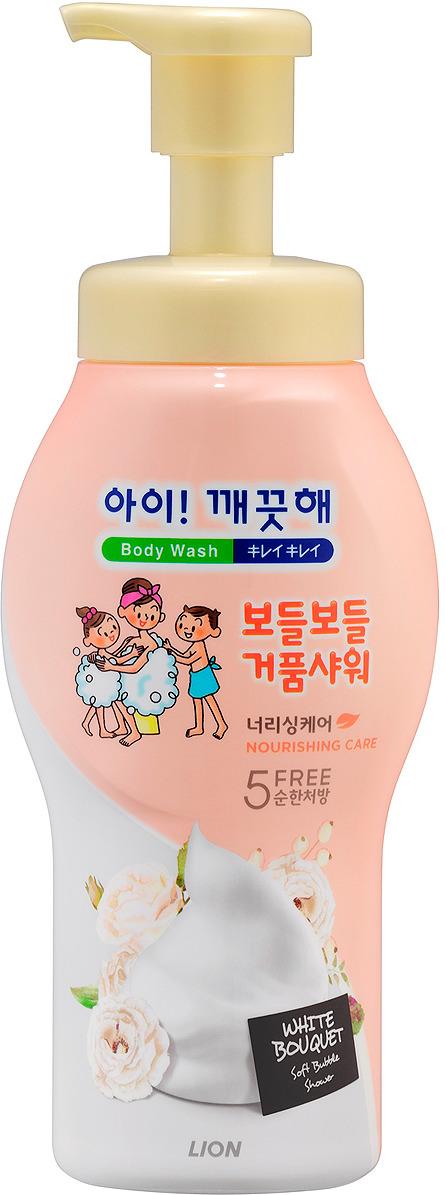 Пена для ванны Cj Lion Ai-Kekute, питательная, с цветочным ароматом, 700 мл8806325-618072Пенное средство для душа на основе растительных компонентов для чувствительной кожи. Обильная пена бережно очищает кожу, оставляя после мытья ощущение свежести и гладкости кожи. Содержит очищающие компоненты.