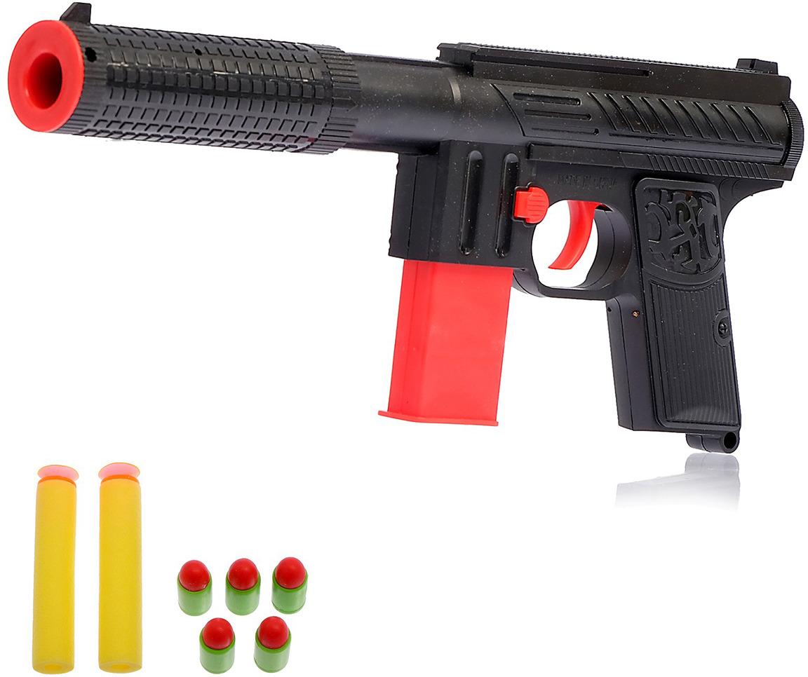 Игрушечное оружие Пистолет Крутой стрелок, 1164937 игрушечное оружие пистолет макс 1565554