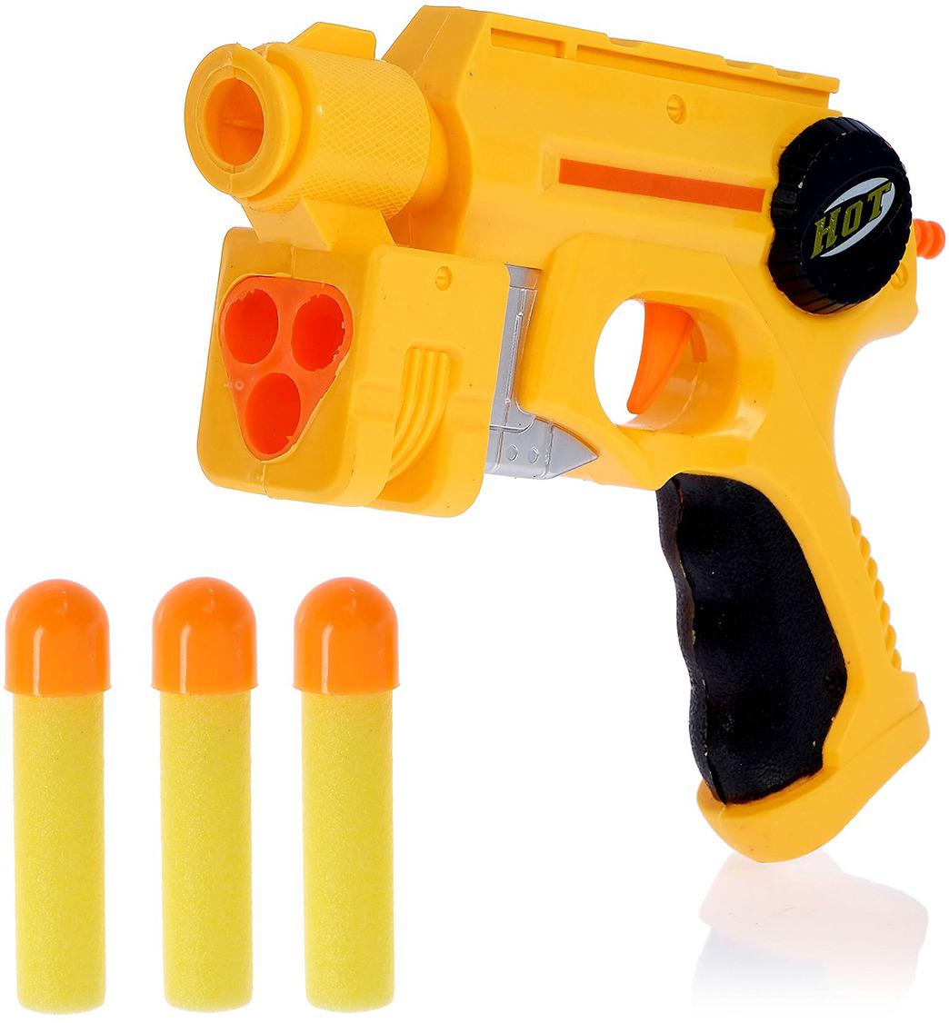 Игрушечное оружие Пистолет Атака, 117122 игрушечное оружие zuru x shot ружье с мишенями атака пауков