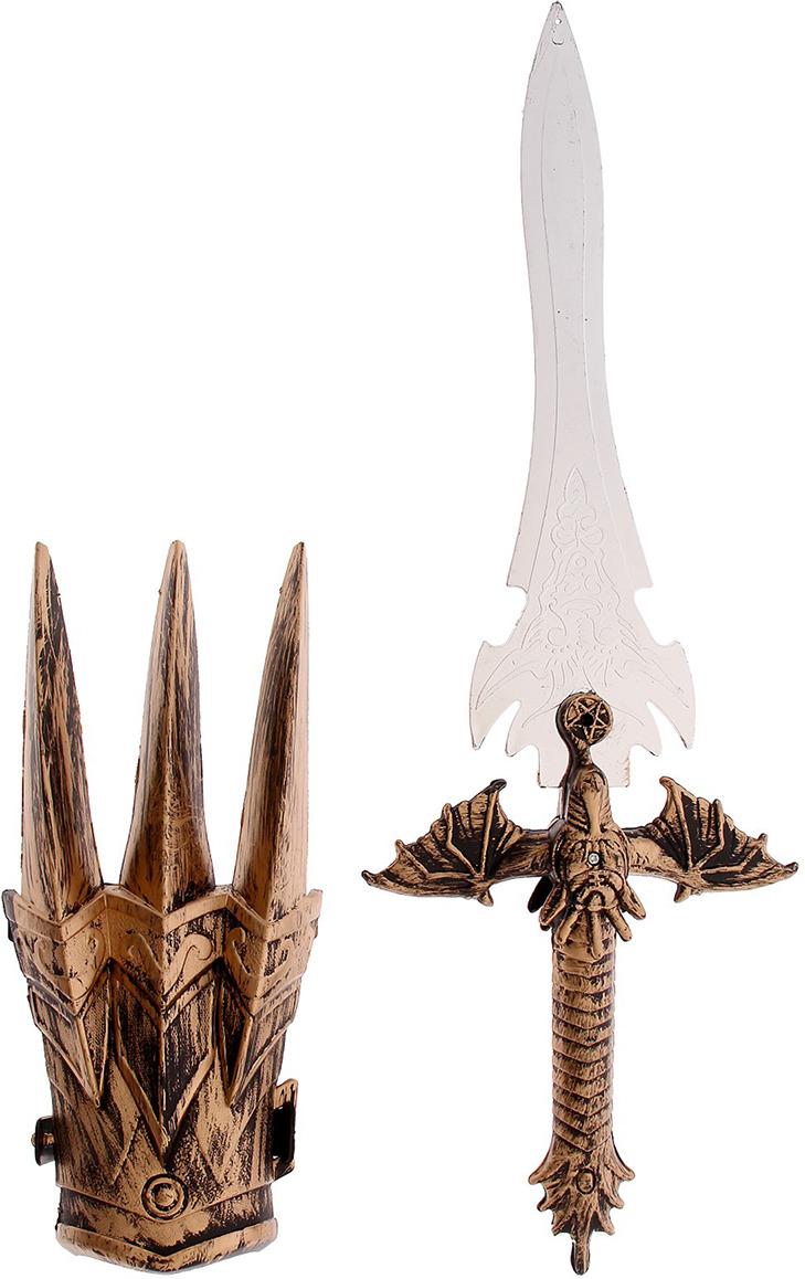 Игровой набор Меч дракона с накладкой на руку, 2621648 игровой набор gonher ковбойский набор револьвер пластмассовый на 8 пистонов звезда шерифа 204 0