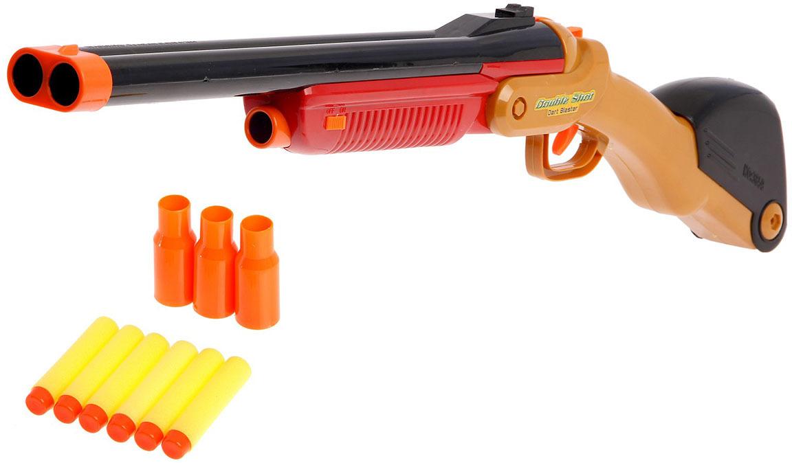Игрушечное оружие Ружье Двойной выстрел, 2624261 игрушечное оружие zuru x shot ружье с мишенями атака пауков