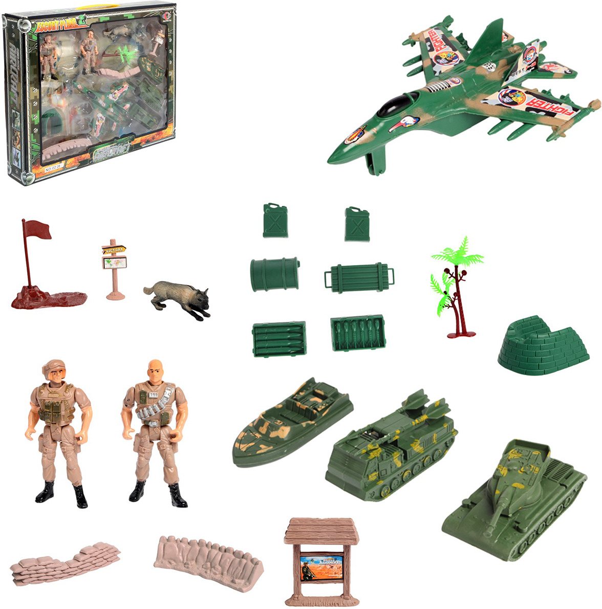 Игровой набор Военная база, 28602392860239Игровой набор «Военная база» станет прекрасным дополнением к развлечениям малыша.