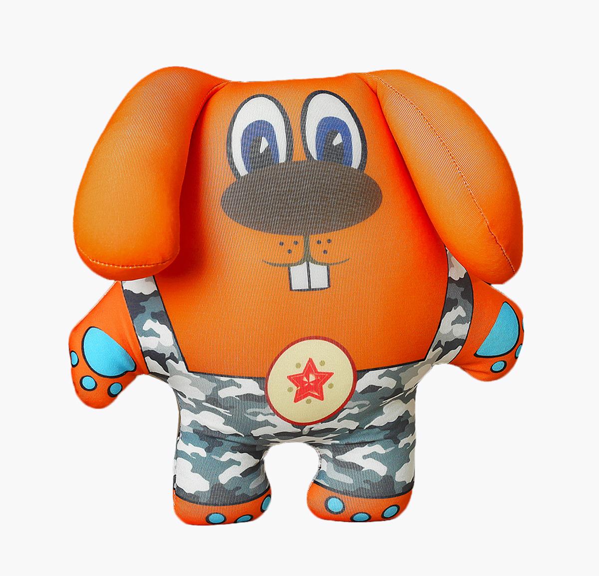 """Антистрессовая игрушка """"Заяц в камуфляже"""", 2961347"""