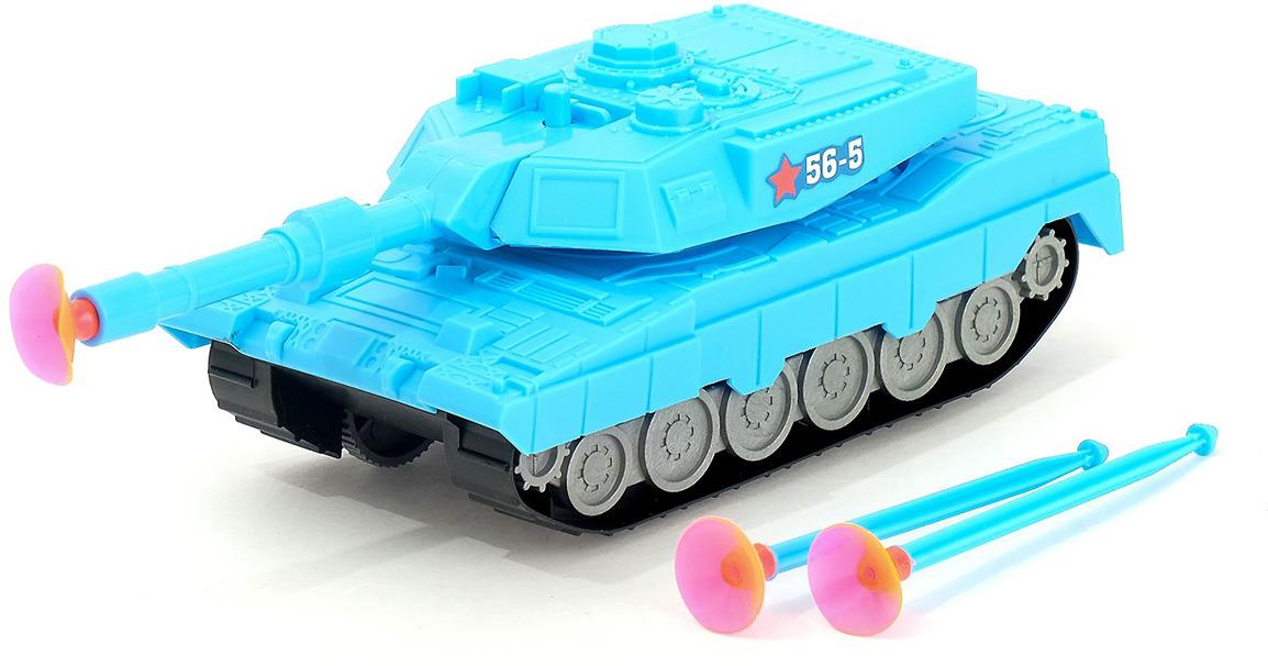 Машинка Танк Защитник инерционный, цвет в ассортименте, 3574450 машинка vsp танк 628437