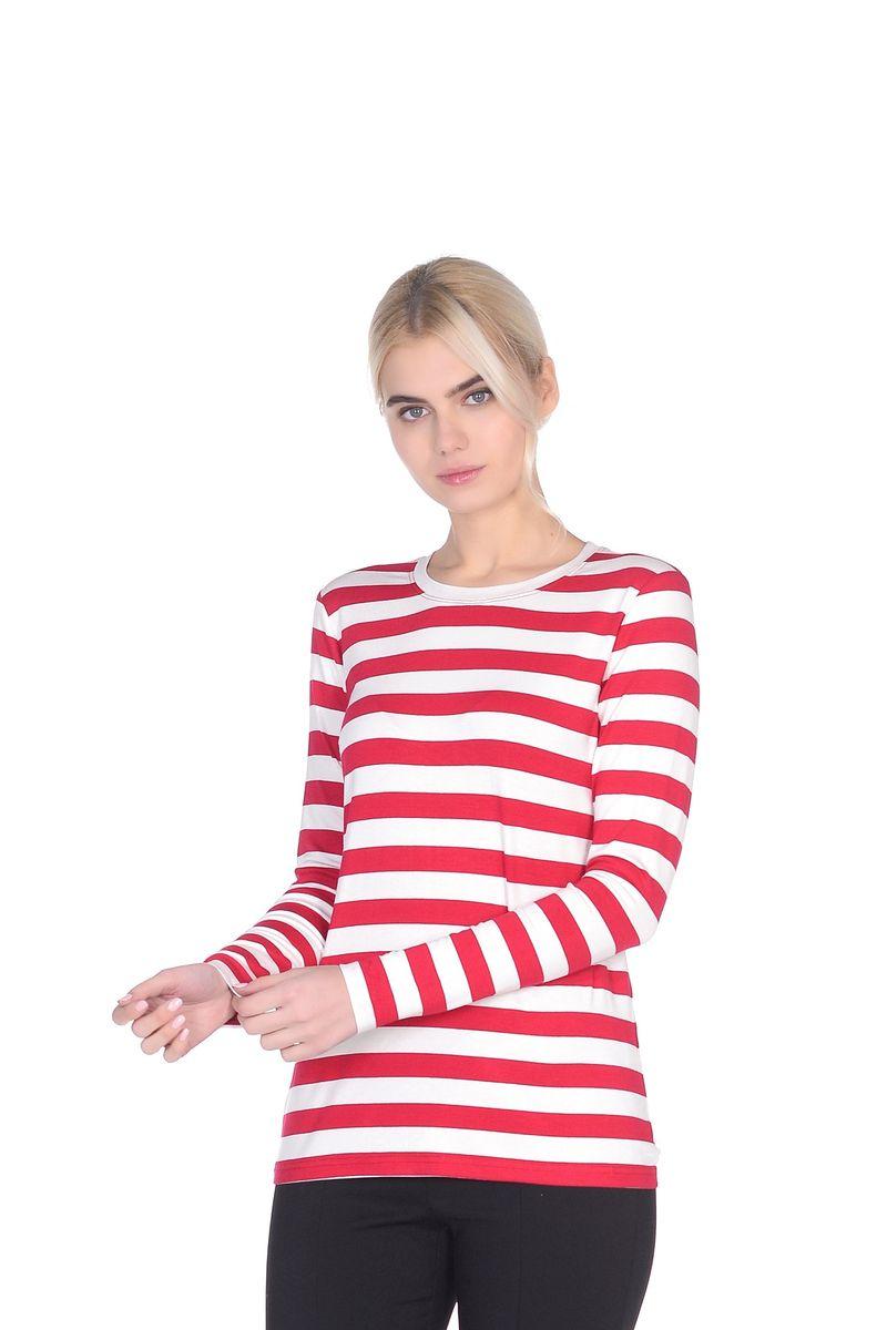 Джемпер женский La Via Estelar, цвет: красный. 24502. Размер 4624502