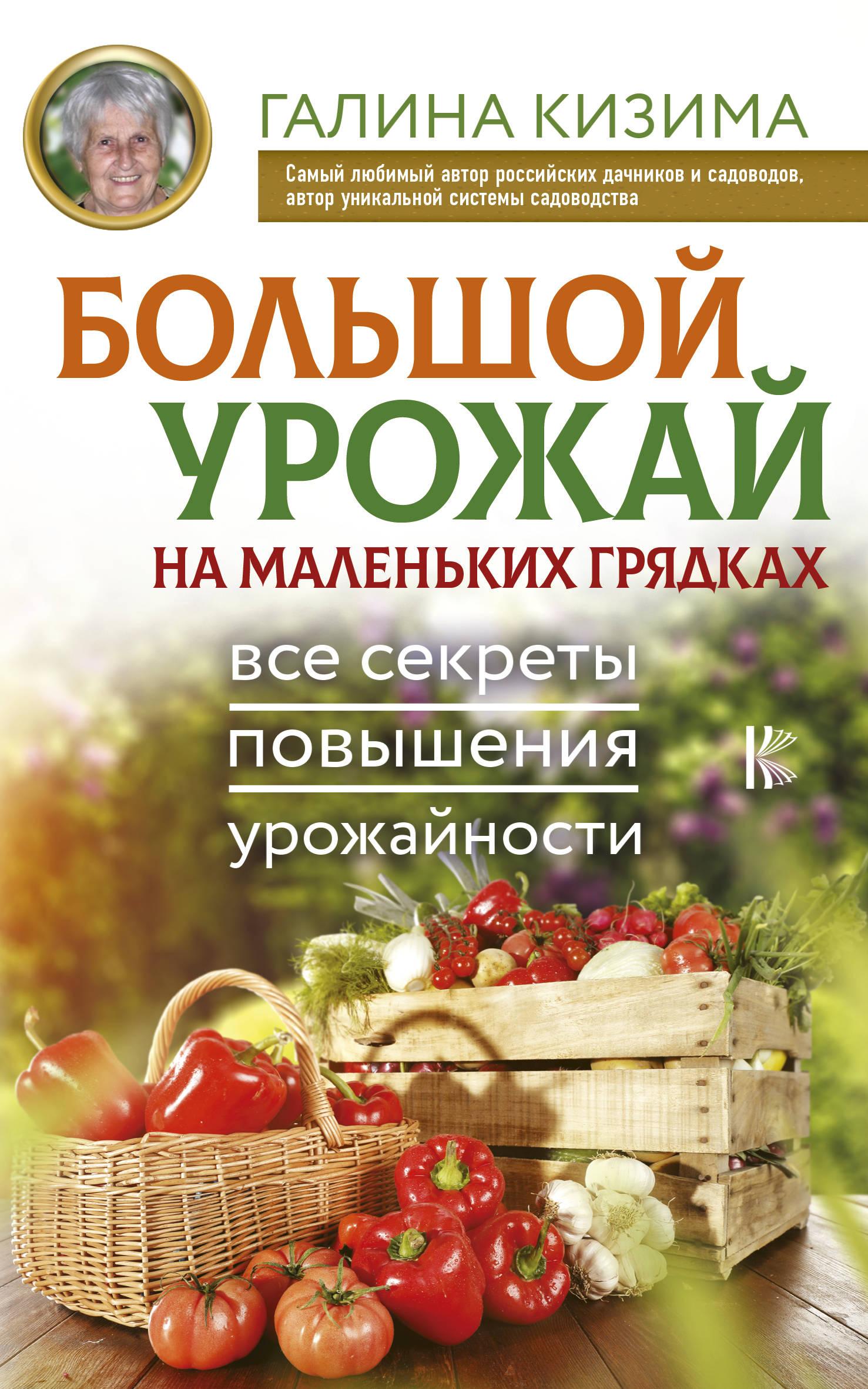 Кизима Галина Александровна Большой урожай на маленьких грядках. Все секреты повышения урожайности