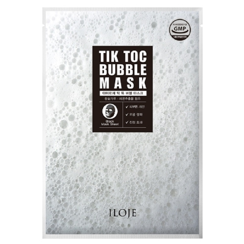 Пузырьковая маска для лица Iloje, 23 г