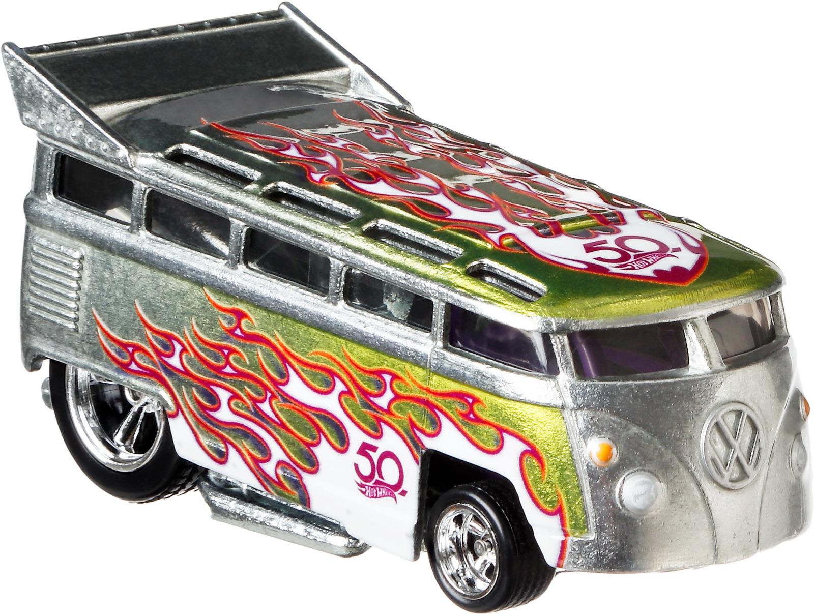 Трековые машинки Hot Wheels Юбилейные, FLF35_FLF41, серебристый, золотистый машинки и мотоциклы hot wheels юбилейные тематические машинки frn23