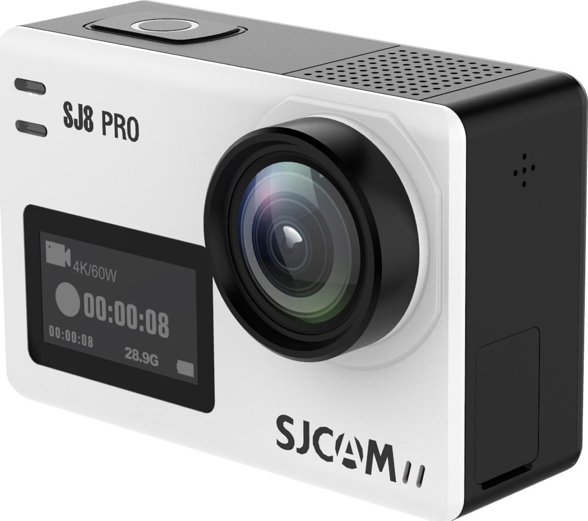 Экшн-камера SJCAM SJ8 Pro, SJ8 Pro (white), серебристый original sjcam sj8 pro 4k 60fps wifi action camera