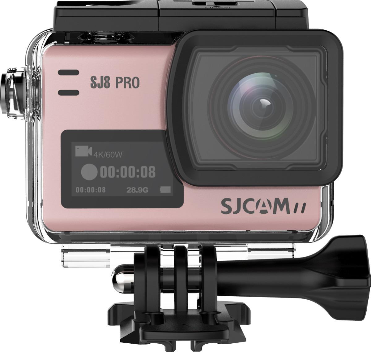 Экшн-камера SJCAM SJ8 Pro, SJ8 Pro (rose), розовый original sjcam sj8 pro 4k 60fps wifi action camera