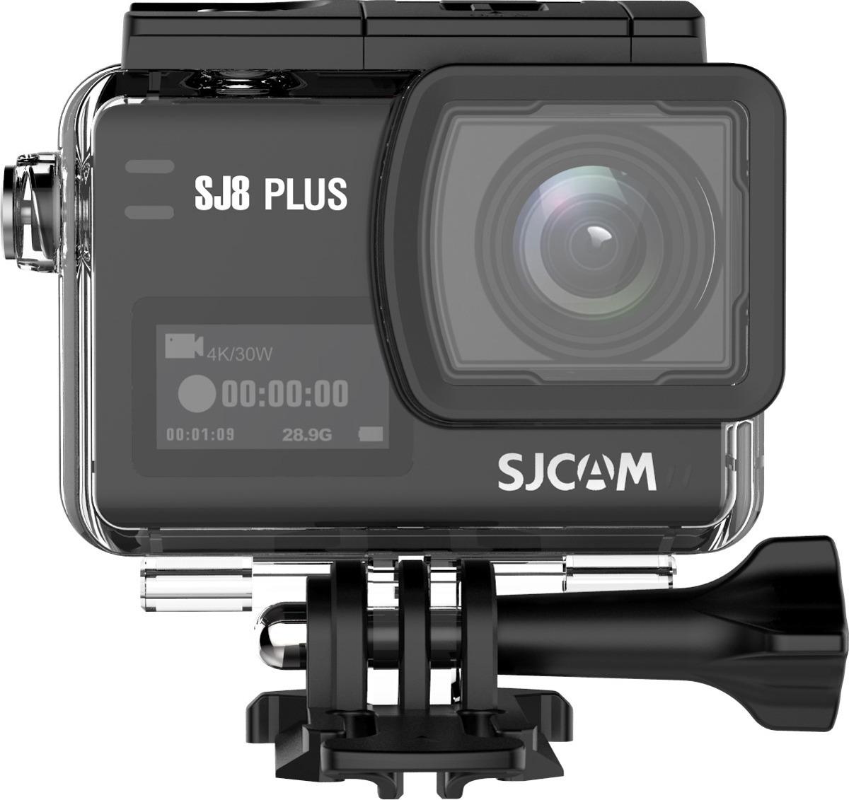 Экшн-камера SJCAM SJ8 Plus, SJ8 Plus (black), черный экшн камера sjcam sj5000 wifi 1080p wifi желтый [sj5000wifiyellow]