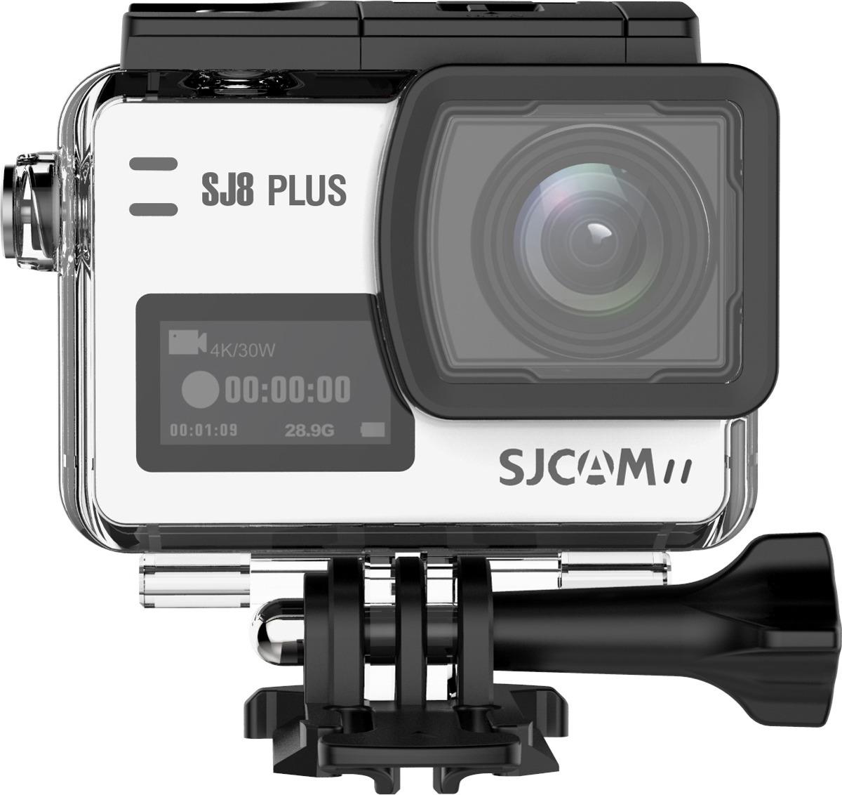 Экшн-камера SJCAM SJ8 Plus, SJ8 Plus (white), серебристый original sjcam sj8 pro 4k 60fps wifi action camera