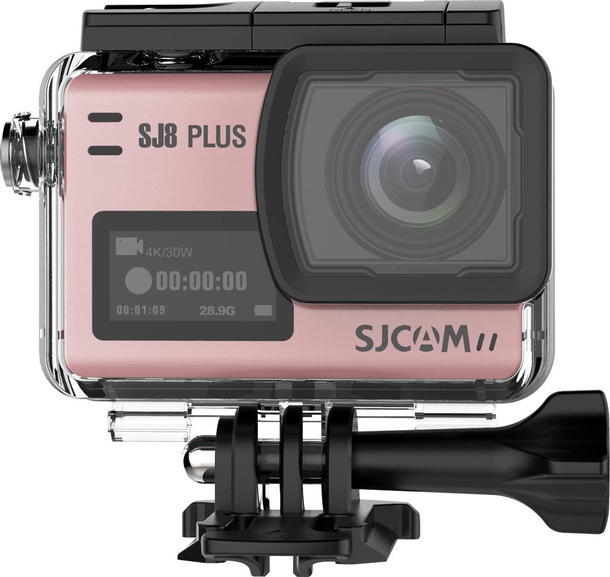 Экшн-камера SJCAM SJ8 Plus, SJ8 Plus (rose), розовый original sjcam sj8 pro 4k 60fps wifi action camera