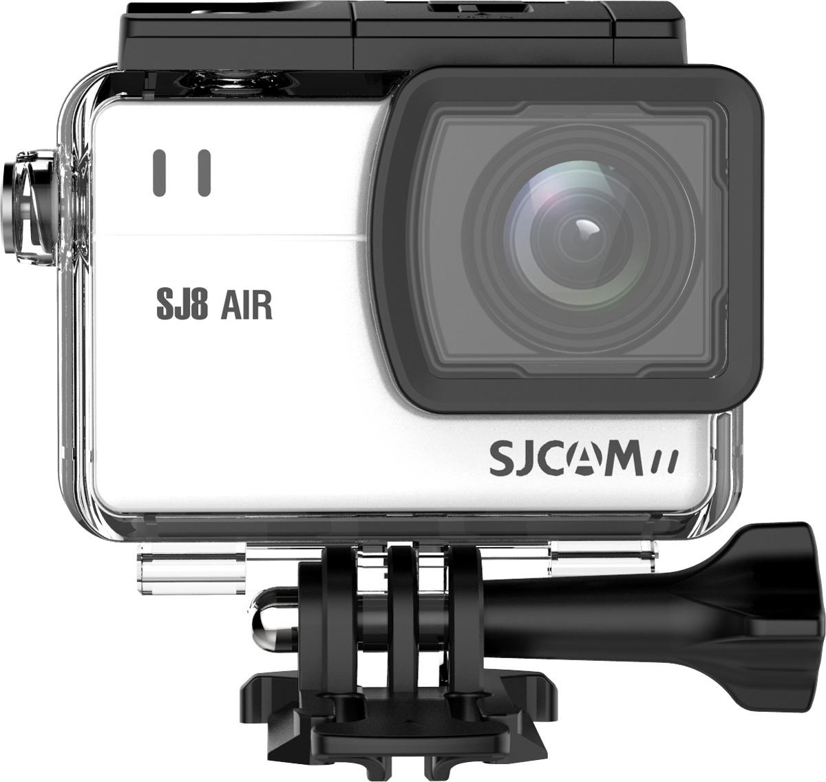 Экшн-камера SJCAM SJ8 Air, SJ8 Air (white), серебристый original sjcam sj8 pro 4k 60fps wifi action camera